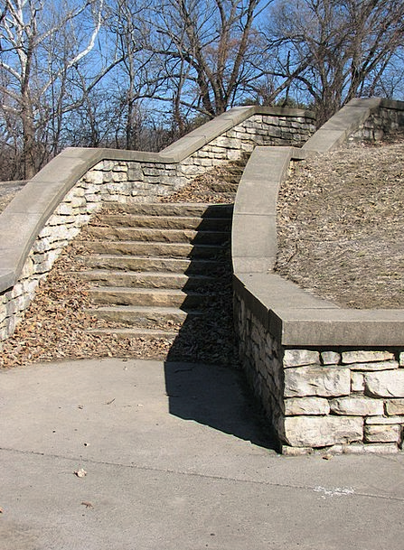 Stairs Staircases Pebble Brick Element Stone Exerc
