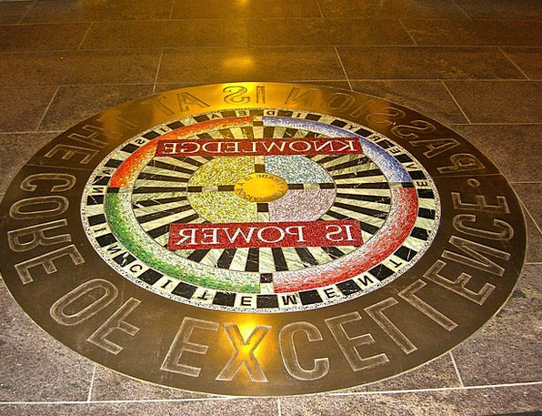 Seal Closure Slogan Floor Ground Motto Inside Macr