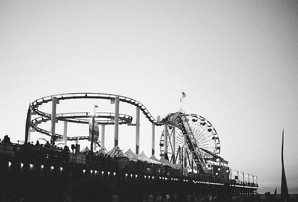Amusement Park Fun Ride Roller Coaster Entertainme