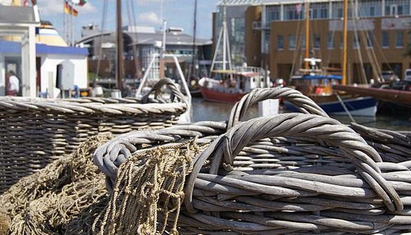 Basket Bag Harbor Büsum Port Holiday Break Idyll B