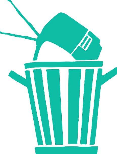 Garbage Microchip technology Trash Electronics E-W