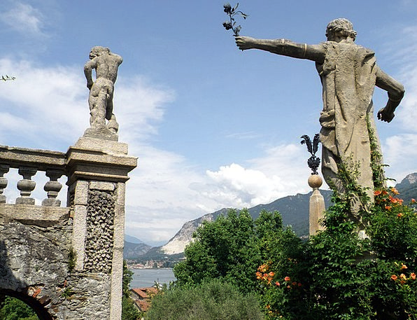 Italy Landscapes Statuaries Nature Statues Figurin