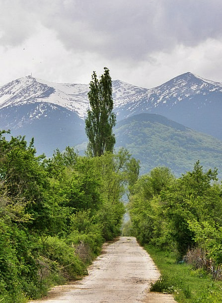 Mountain Crag Landscapes Street Nature Country Rep