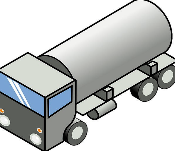 Truck Car Traffic Clip Transportation Fuel Petrole