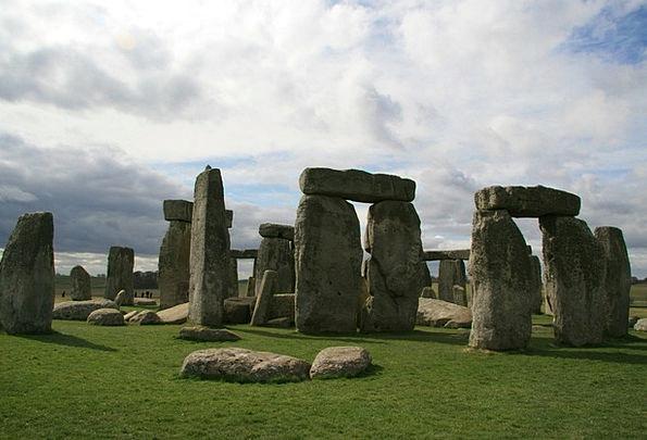 Stonehenge Buildings Architecture Great Britain En