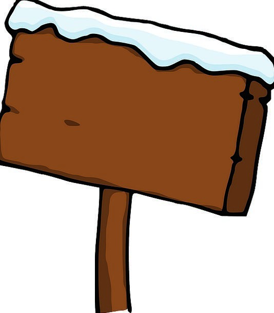Board Panel Snowflake Wood Timber Snow Snowy Snow-