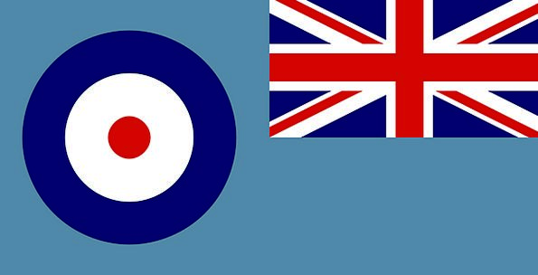 Ensign Pennant Regal Air Midair Royal Emblem Force