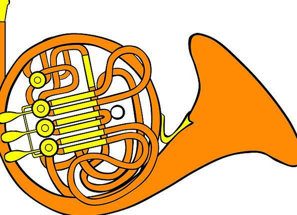 Trombone Siren Musical Melodic Horn Instrument Too