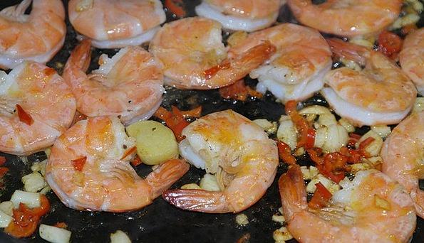 Scampi Drink Food Seafood Shrimp Grilled Barred De