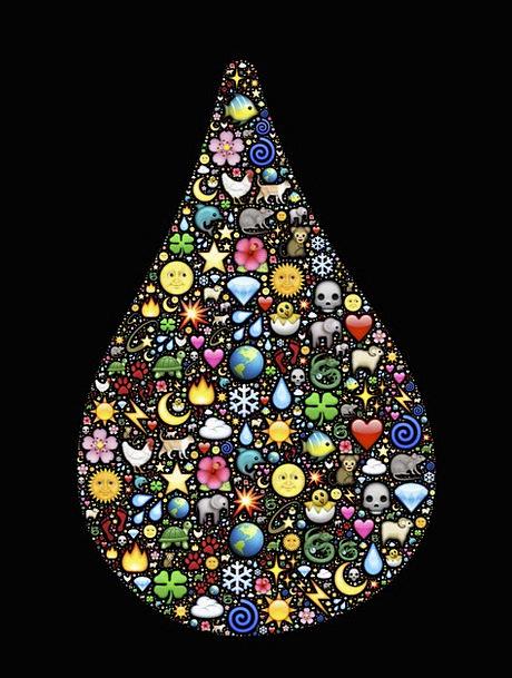 Drop Landscapes Nature Emoji Droplet Magical Tear