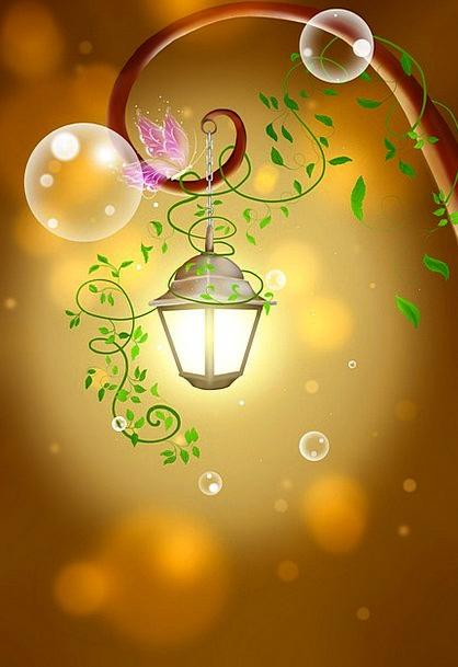 Lantern Lamp Textures Backgrounds Illustrations Ar