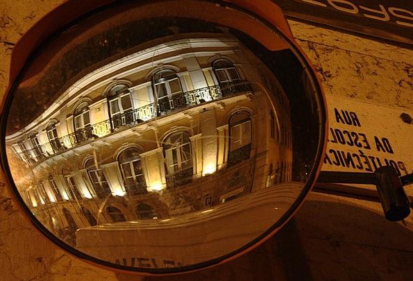 Mirror Glass Buildings Urban Architecture Ball Mir