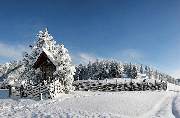 Winter Season Landscapes Snowflake Nature Snowy Sn