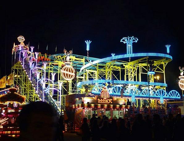 Ride Trip Folk Festival Roller Coaster Year Market