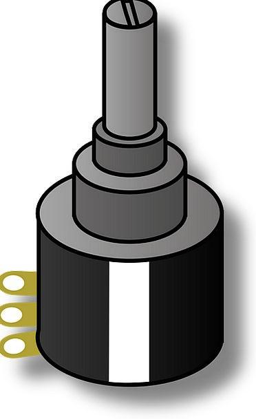 Potentiometer Control Resistance Confrontation Rhe