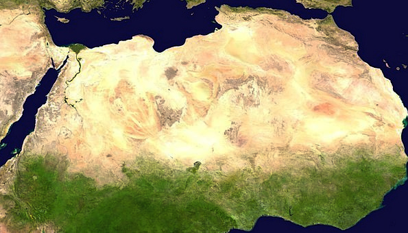 Sahara Reward Satellite Photo Desert Satellite Ima
