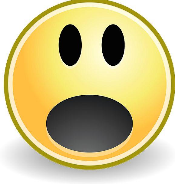 Surprise Astonishment Smiling Oh Smiley Fear Terro