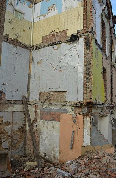 Demolition Buildings Household Architecture Destru