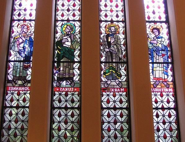 Church Ecclesiastical Gap Evangelists Window Churc