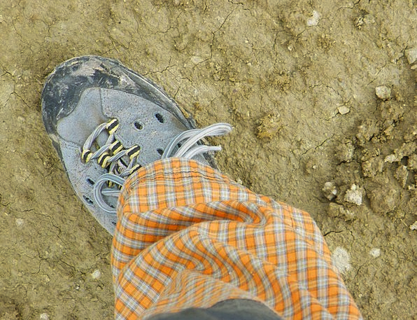 Shoe Trail Outdoor Outside Path Clay Earthen Track