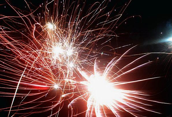 Fireworks Rockets Detonate Light Bright Explode St