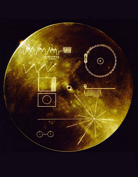 Space Travel Data Sheets Voyager Golden Record Voy
