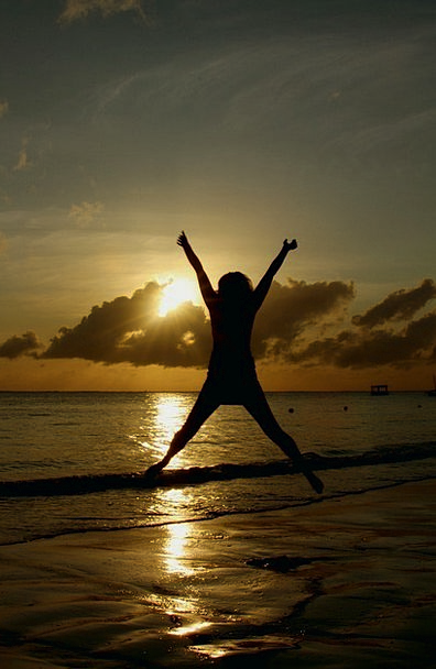 Sunset Sundown Vacation Hurdle Travel Beach Seasho