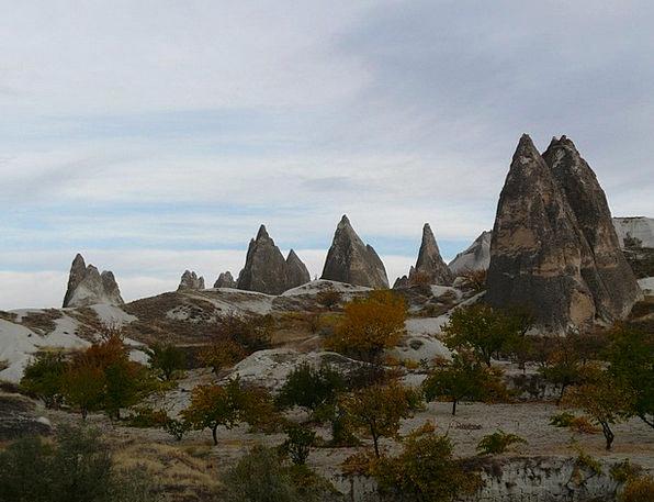 Fairy Chimneys Fairy Towers Cappadocia Rock Format