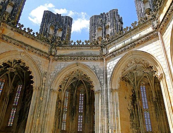 Batalha Buildings Cloister Architecture Monastery