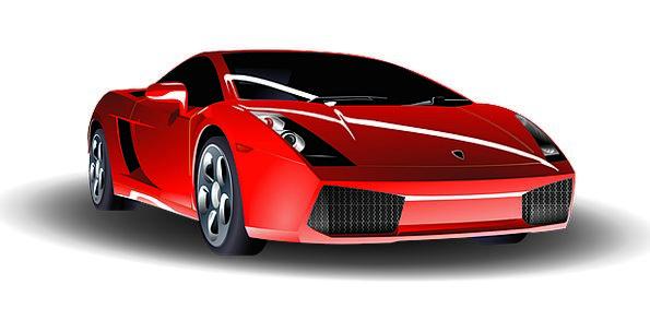 Car Carriage Traffic Transportation Red Bloodshot