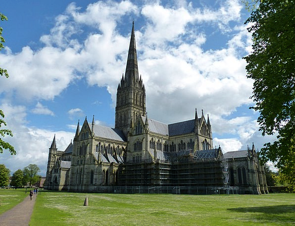Salisbury Ecclesiastical Cathedral Church Building