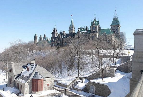 Canada Winter Season Ottawa