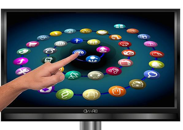 Finger Digit Communication Demonstration Computer