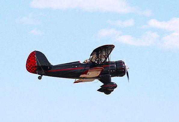 Biplane Aircraft Plane Flat Airplane Oldtimer Avia