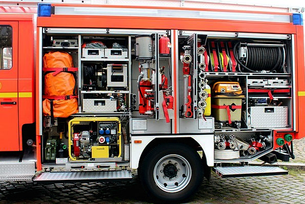 Fire, Passion, Equipment, Gear, Fire Truck, Auto, Car, Tools