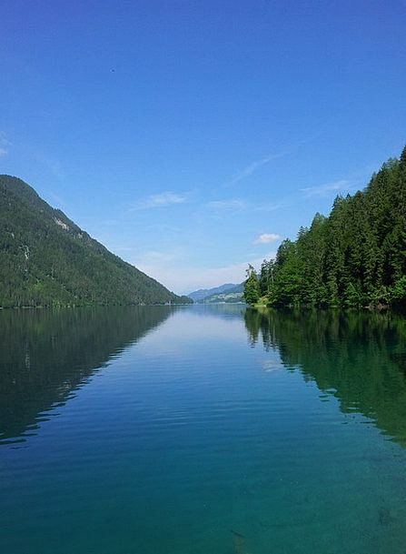 Lake Weissensee Landscapes Nature Carinthia Hospit