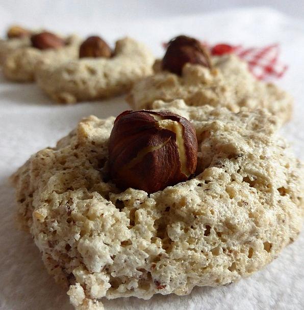 Christmas Cookies Hazel Nut Pastries Cookie Christ