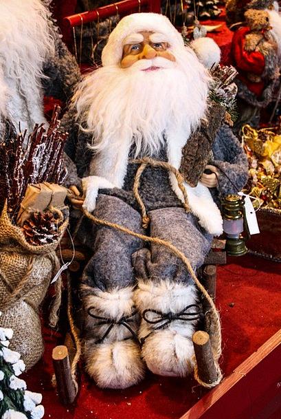 Santa Claus Christmas Nicholas Christmas Market
