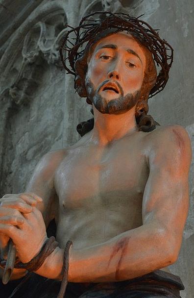 Jesus Figurine Faith Confidence Statue Image Copy
