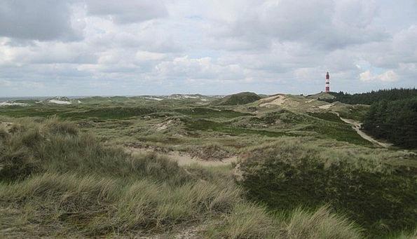 Amrum Landscapes Blue Nature Dunes Banks Sky Natur