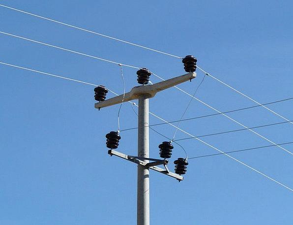 Insulators Paddings Electricity Power Strommast Cu