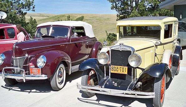 Vintage Cars Traffic Transportation Classic Car Ol