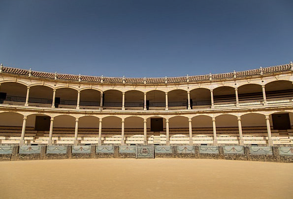 Bullfight Arena Stadium Corrida Sport Spain Matado