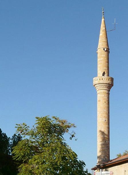 Minaret Turret Buildings Barbican Architecture Mos