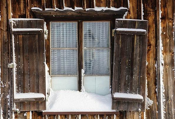 Window Gap Season Snow Snowflake Winter Wintry Chi