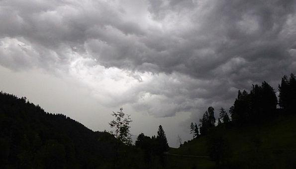 Gewitterstimmung Landscapes Countryside Nature Clo