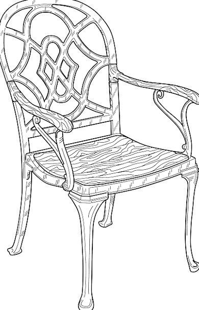 Chair Chairperson Timber Furniture Equipment Woode