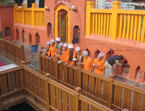 Nepal Ethos Hindu Culture Puja Religion Pray Faith