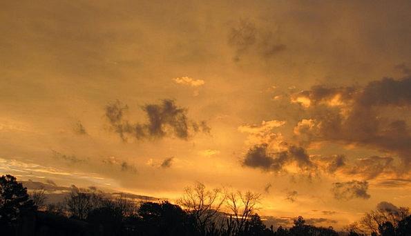 Sunset Sundown Vacation Blue Travel Glow Radiance