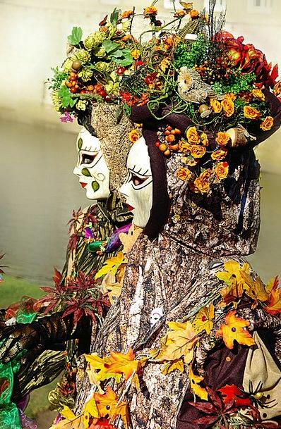 Carnival Festival Masks Covers Schwäbisch Hall Wom